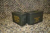 * 2 Pack * Combo 50 Cal / 308 Cal AMMO CAN GREAT CONDITION ** FREE SHIPPING **
