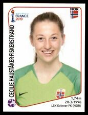 Panini FIFA World Cup 2019 Women #65 Cecilie Hauståker Fiskerstrand Norway