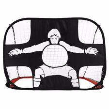 KIDS Folding Football Gate Net Goal Gate Extra-Sturdy Soccer Practice Portable