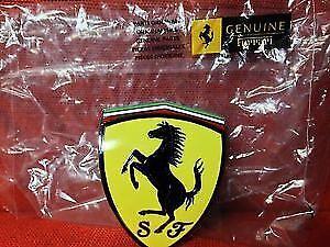 BRAND NEW Genuine Ferrari 360 Front Fender Side Badge Emblem P/N 65921900