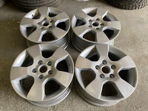 "Genuine OEM Skoda Octavia 15"" 5x112 Alloy Wheels  Caddy T4 Golf Seat VW Audi"