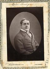 Lemercier et Cie, Paris, Opéra Comique. Ténor Fugère  Vintage print.  Photogly