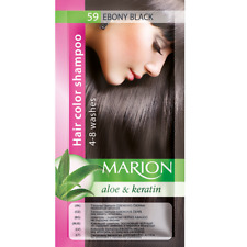 Marion Hair color shampoo sachet (lasting 4-8 washes) Aloe & Keratin 59
