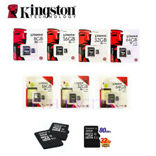 Kingston 80Mbps Class 10 MicroSD 16/32/64GB Memory Card