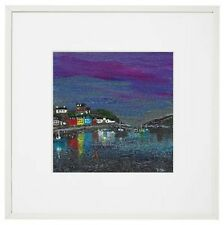 Tobermory framed print of my original painting , 1 of 50 Limited edition giclée