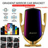 Automatic Clamping Wireless Car Charging Cellphone Charger Mount Air Vent Holder