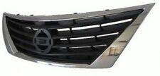 fits 2012 2013 2014 VERSA SL SV SEDAN Front Bumper GRILLE New