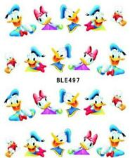 3 x Disney Donald Duck Nail Stickers Nail Art Decal Manicure Water Transfer