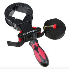 Powertec Quick Release Band Clamp Woodworking Frame Clamping Strap Holder Tool