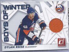 2010-2011 Donruss Hockey Dylan Reese Boys of Winter Jersey Card