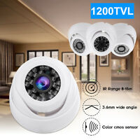 Mini HD 1200TVL CCTV Surveillance Security Camera Outdoor Home IR Night Vision