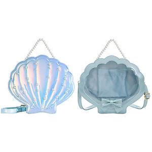 Laser Pearl Shell Baby Bag 20cm 15cm Cotton Doll Bag Lolita PVC Diagonal Handbag