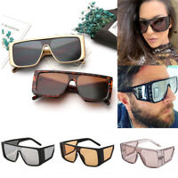 2019 Vintage Retro Unisex Square Sunglasses Fashion Shades Oversized Glasses Hot