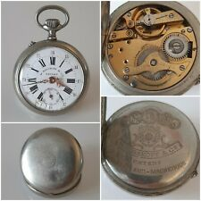 Montre Gousset W. ROSKOPF & Cie Patent - Old Pocket Watch Orologio Uhr -
