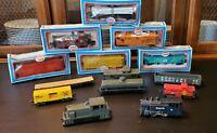 14 model railroads trains mixed lots ho scale