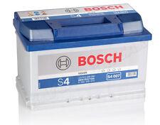 BOSCH 72 Ah Starterbatterie S4 007 12V 72Ah Batterie 572409068 NEU