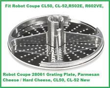 Robot Coupe 28061 Grating Plate Parmesan Hard Cheese Cl50 Cl 52 R502e R602ve