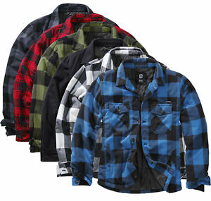 Brandit Lumberjacket Herren Herbst Winter Jacke Übergangsjacke Holzfäller Hemd