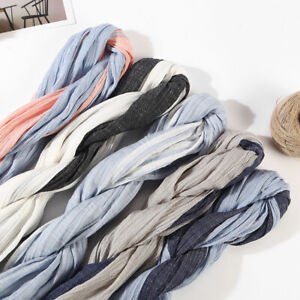 New Men's Scarf Striped Cotton Linen Shawls Pleated Scarves Unisex Scarf Warm