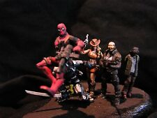 25mm, 1/48th scale custom Agency X (including Deadpool) from Marvel comics