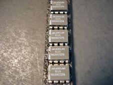 Nos Lot of 5 Maxim Max457 Cpa Dual Video Da 8-Dip Package