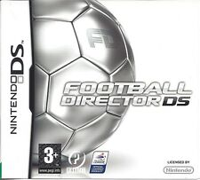 FOOTBALL DIRECTOR DS for Nintendo DS - with box & manual