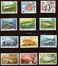 POISSONS  de mer et d'aquarium de 3 pays  28m414