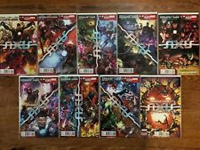 Avengers X-Men Unite Axis Complete Marvel Collection #1-9