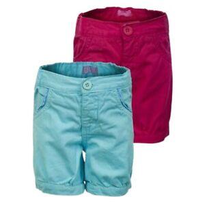 Girls Minoti Denim Cotton Adjustable Waist Summer Casual Bow Back Jeans Shorts