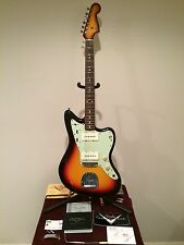 1964 Fender Jazzmaster Custom Shop Relic L Series-2014-Sunburst