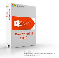 MS Microsoft PowerPoint 2019 1PC Original 32/64-Bit für Windows 10