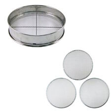 Soil Sieve Coarse Medium Fine set 300mm Stainless Steel Japan Bonsai Filter Mesh
