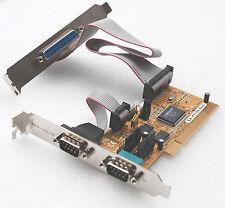 EXSYS EX-41150 PCI MULTI I/O CARD 2x SERIEL RS-232 FIFO 16C550 PARALLEL EPP ECP