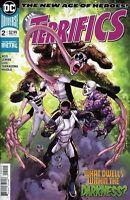 TERRIFICS #2 Dark Nights Metal DC Comics 1st Print Lemire Reis