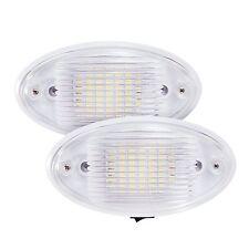 2 pack LED Ceiling Porch Light Fixture 12V RV Interior and Exterior Lighting