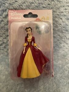 "Disney Princess Figurine Belle Figure Plastic 3"" New Free Shipping Toy"