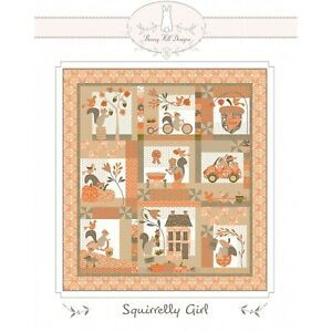 Squirrelly Girl Quilt Pattern by Bunny Hill Designs #2159
