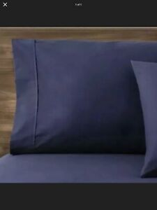 Target Made By Design Sheet Set Twin/XL Twin 3-PC Easy Care Blue Amethyst