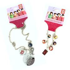 One Direction 2 pc Gift Set Niall Charm Necklace & Charm Bracelet New Official