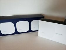 eero Home WiFi System 1st Generation - base station plus 3 extensions (4 units)