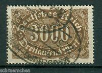 Deutsches Reich 254b , o , Infla geprüft
