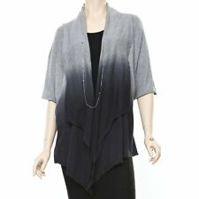 BRAND NEW Luxurious Joie Thadine Wrap Women's Size Small - Charcoal/Heather Grey