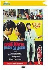 Un Cuore matto ... matto da legare DVD NUOVO Little Tony i Mitici Anni 60