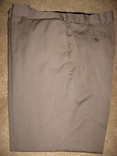 Mens Brown STAFFORD Adjustable Waistband Dress Pants 40 x 29