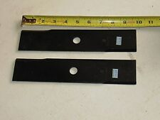 "Set of 2 Edger Blades 10"" x 2"" Stens 375-170"