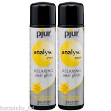 Pjur Analyse Me Silicone Personal Lubricant 100ml (2 Pack)