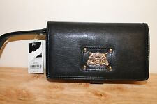 Juicy Couture Tech Wristlet Black Womens Wristlet