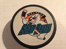 ORLANDO SOLAR BEARS IHL PUCK WORLD