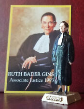 JUSTICE RUTH BADER GINSBURG FIGURINE & CARD - ADD TO YOUR MARX COLLECTION
