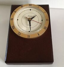 Wood Desk Clock Battery Operated US News Edelin Quartz